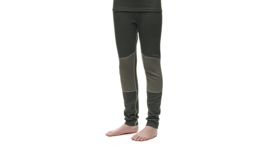 Houdini Junior Alpha Long Johns monet green